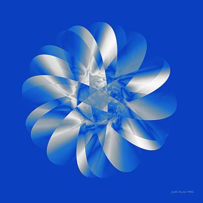 Digital Art - Cold As Ice by Judi Suni Hall