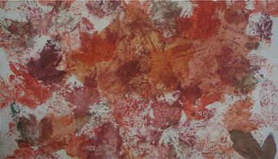 Love Painting - Cold Autumn by Nydia Williams