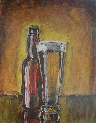 Painting - Cold Beer by Lee Stockwell