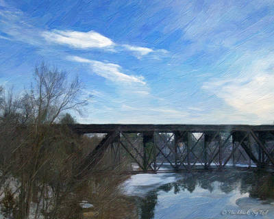 Painting - Cold Bridge by Melody McBride