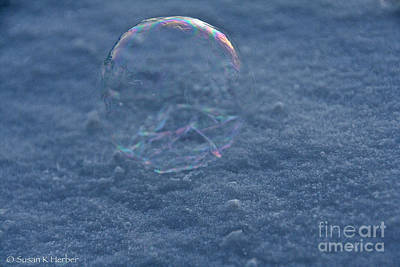 Photograph - Cold Bubble by Susan Herber