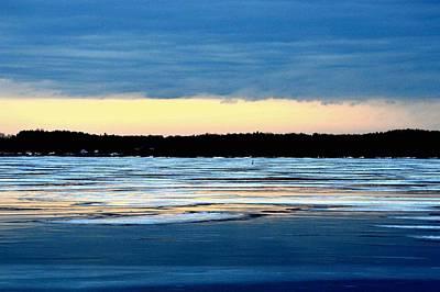 Cold Colour Wash 3 - Canada Art Print