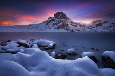 Asturias Photograph - Cold Dawn by Carlos F. Turienzo