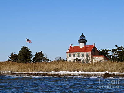 Photograph - Cold Day At East Point Light  by Nancy Patterson