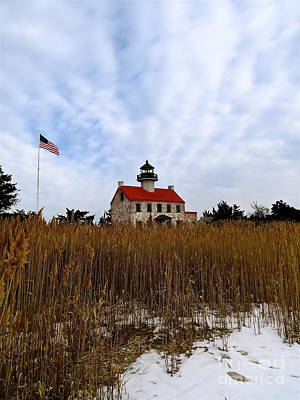 Photograph - Cold Day At East Point  by Nancy Patterson