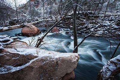 Sedona Arizona Photograph - Cold Drift by Bill Cantey