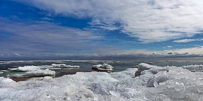 Photograph - Cold Expanse by Leda Robertson