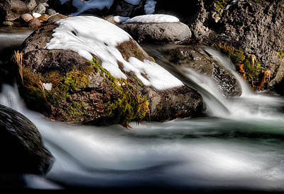 Photograph - Cold Flow by Robert Woodward
