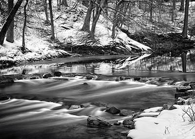 Pennypack Photograph - Cold Flows by Rob Dietrich
