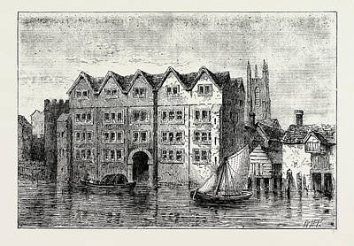 Cold Harbour. London, Uk Art Print by Litz Collection