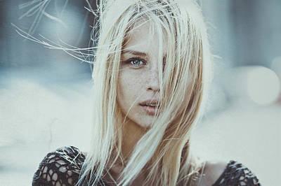 Windy Photograph - Cold Infinity by Pavel Lepeshev