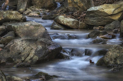 Photograph - Cold Mountain Stream by Steve Hurt