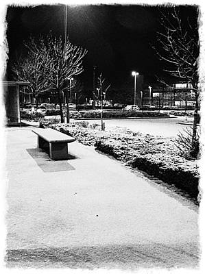 Cold Nights Journey Home Art Print by Andrew Allsopp