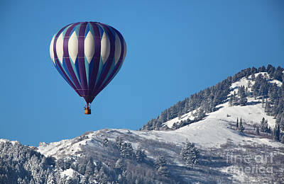 Photograph - Cold Ride With Hot Air by Bill Singleton