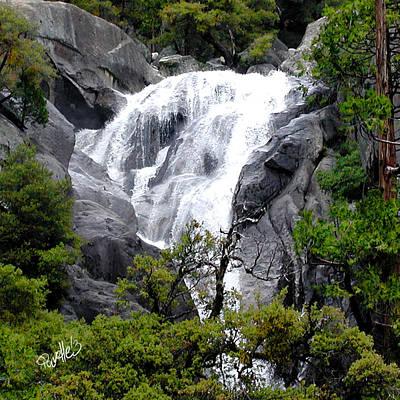 Digital Art - Cold Rush - Yosemite National Park by Jim Pavelle