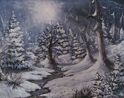 Painting - Cold Snap by Megan Walsh