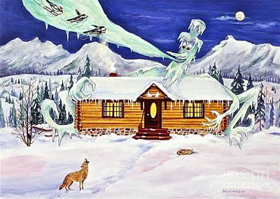 Banff Artist Painting - Cold Snap by Virginia Ann Hemingson