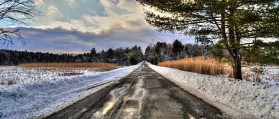 Cold Spring Road - Berkshire County Art Print