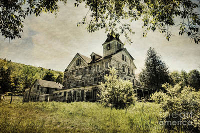 Print featuring the photograph Cold Springs Hotel by Vicki DeVico