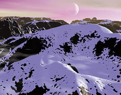 Robert Duvall Digital Art - Cold Sunset by Robert Duvall