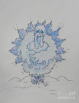 Cold Turkey Art Print by Sheri Lauren Schmidt
