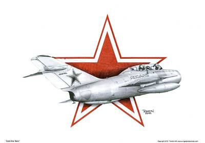 Cold War Relic Art Print by Trenton Hill