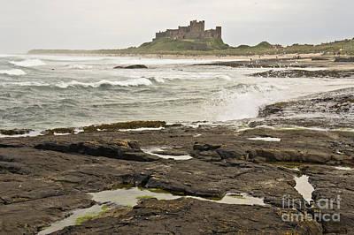 Cold Waves Of Northumberland Art Print