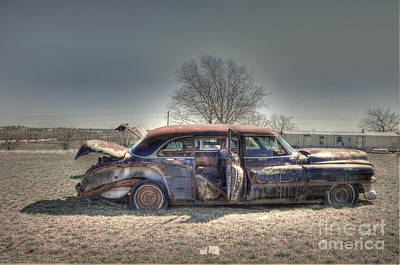 Junk Photograph - Cold Winters Day by Hilton Barlow