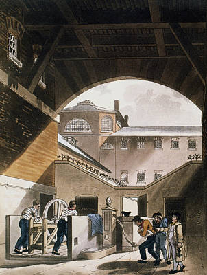 Prison Painting - Coldbath Fields Prison by Granger