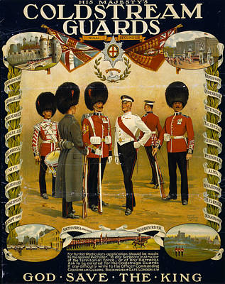 Painting - Coldstream Guards, 1914 by Granger
