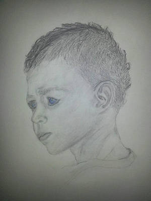 Drawing - Cole by Cheryl McKeeth