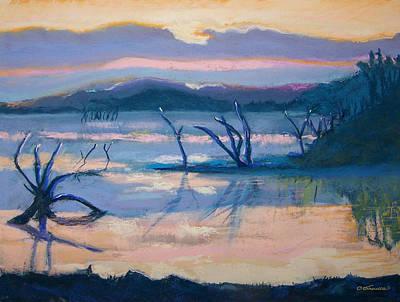 Coletta Lake Art Print by Charles Krause