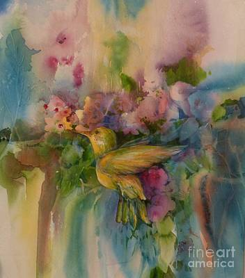 Painting - Colibri by Donna Acheson-Juillet