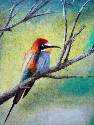 Colibri Painting - Colibri by Lefteris Skaliotis