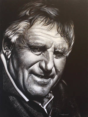 Colin Meads Art Print by Bruce McLachlan