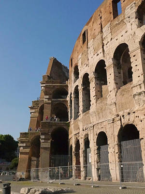 Photograph - Coliseum 8 by Herb Paynter