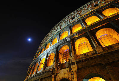 Coliseum Art Print by Aaron Bedell