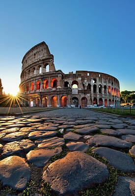 Photograph - Coliseum by Ag Photographe