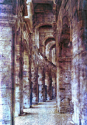 Photograph - Coliseum Arles France by Bob Coates
