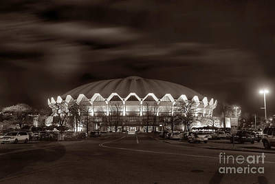 Photograph - Coliseum At Night Toned by Dan Friend
