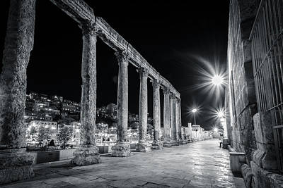 Photograph - Coliseum Courtyard by Dave Hall