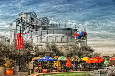 Caesars Palace Photograph - Coliseum by Stephen Campbell