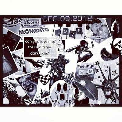 Pop Art Wall Art - Photograph - Collage Black And White by Dvon Medrano