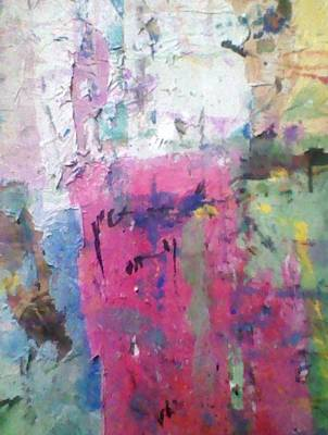Opaque White Mixed Media - Collage by Earl Prince