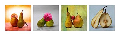 Collage Love Story - Horizontal Art Print