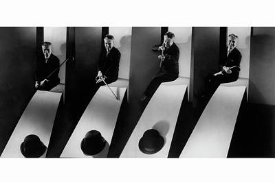 Manipulated Photograph - Collage Of Charlie Chaplin by Edward Steichen