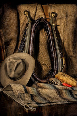 Collar Hames And Hat Art Print by Leah McDaniel
