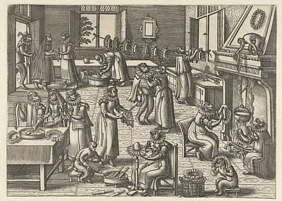 Collar Workshop, Pieter Van Der Borcht Art Print
