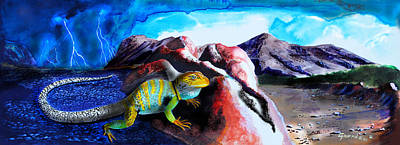 Collared Lizard Original