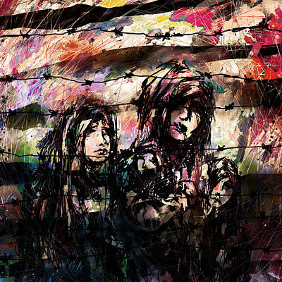 Collateral Damage Art Print
